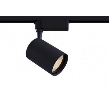 Светодиодный светильник для шинной системы Maytoni Track TR003-1-6W3K-B, LED 6W, 3000K (теплый), черный, металл