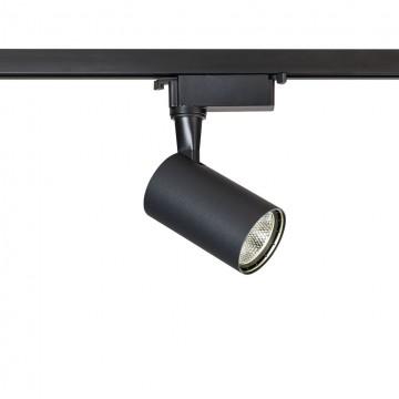 Светодиодный светильник для шинной системы Maytoni Track TR003-1-6W4K-B, LED 6W 4000K 480lm CRI80, черный, металл