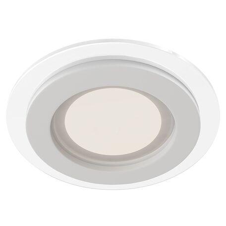 Встраиваемая светодиодная панель Maytoni Han DL304-L18W 3000K (теплый), белый, металл