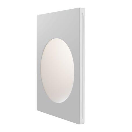 Встраиваемый настенный светильник Maytoni Gyps Modern DL011-1-01W, 1xGU10x30W, белый, под покраску, гипс