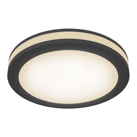 Встраиваемый светильник Maytoni Phanton DL303-L12B 3000K (теплый), черный, металл, пластик