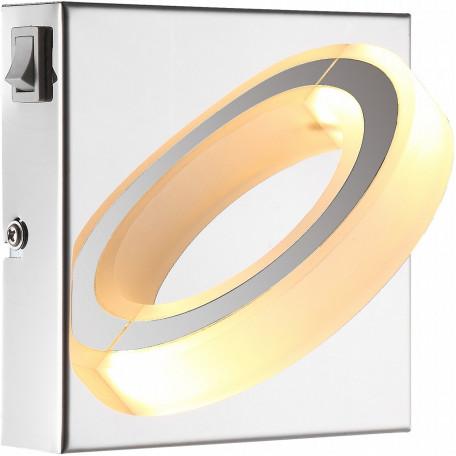 Настенный светодиодный светильник Globo Mangue 67062-1, LED 5W, 3000K (теплый), металл, пластик