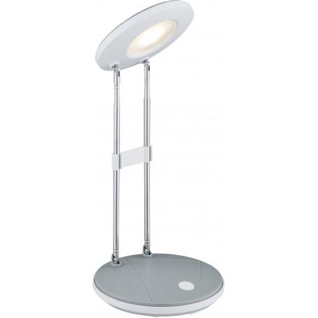 Настольная светодиодная лампа Globo Eloen I 58384 3000K (теплый), металл, пластик