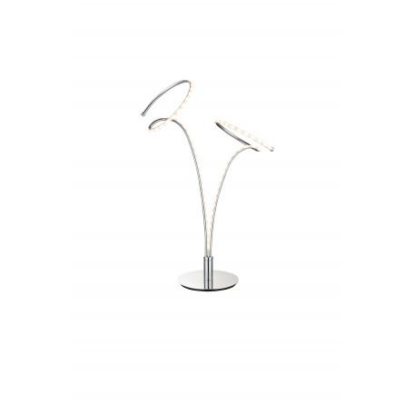 Настольная светодиодная лампа Globo Rebel 67814T, LED 10W, 3000K (теплый), металл, пластик