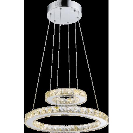 Подвесной светодиодный светильник Globo Marilyn I 67037-24A, LED 24W 4000K, металл, пластик