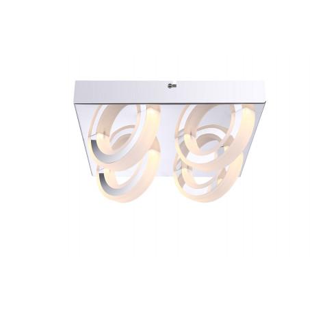Потолочная светодиодная люстра Globo Mangue 67062-4D, металл, пластик