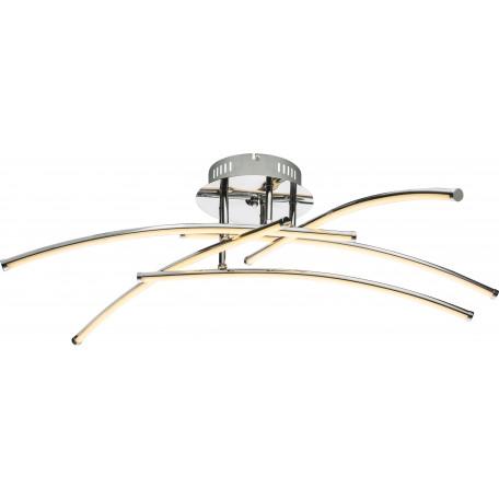 Потолочная светодиодная люстра Globo Barna 67828-36 3000K (теплый), металл, пластик