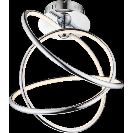 Потолочный светодиодный светильник Globo Wave 67823-36D, LED 36W 3000K, металл, пластик