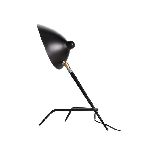 Настольная лампа ST Luce Spruzzo SL305.404.01, 1xE27x40W, черный, металл
