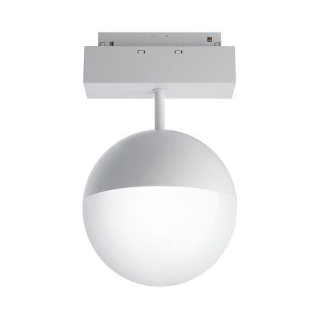 Светодиодный светильник Maytoni Kiat TR017-2-10W3K-W, LED 10W 3000K 1000lm CRI90, белый, металл, металл с пластиковыми рассеивателями, пластик с металлом