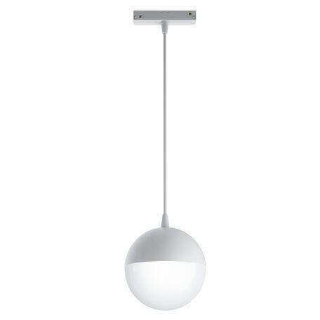 Светодиодный светильник Maytoni Kiat TR018-2-10W3K-W, LED 10W 3000K 1000lm CRI90, белый, металл, металл с пластиковыми рассеивателями, пластик с металлом