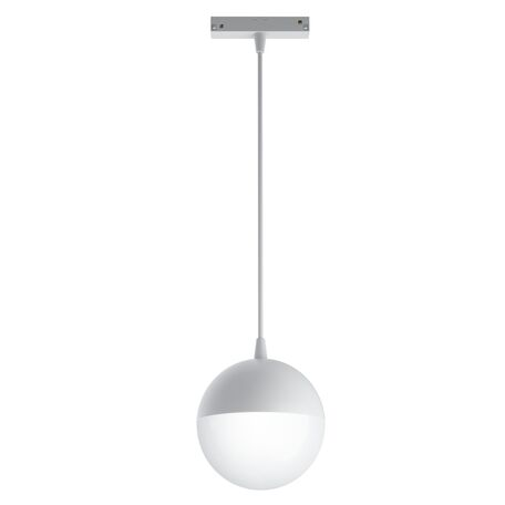 Светодиодный светильник Maytoni Kiat TR018-2-10W4K-W, LED 10W 4000K 1000lm CRI90, белый, металл, металл с пластиковыми рассеивателями, пластик с металлом