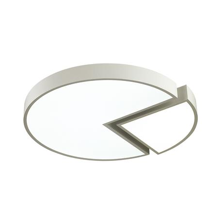 Потолочный светодиодный светильник Lumion Max 3698/52CL, LED 52W 4000K, белый, металл, металл с пластиком, пластик