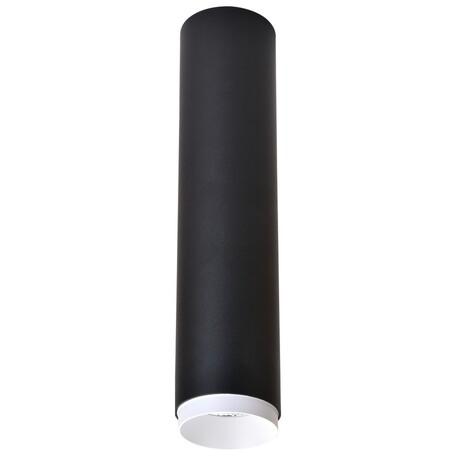 Потолочный светодиодный светильник Wertmark Stecken WE803.01.027, LED 15W 4000K 960lm, черный, металл