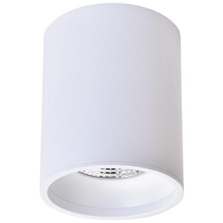 Потолочный светодиодный светильник Wertmark Stecken WE804.01.007, LED 10W 4000K 670lm, белый, металл