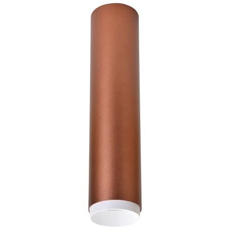 Потолочный светодиодный светильник Wertmark Stecken WE803.01.607, LED 15W 4000K 960lm, коричневый, металл