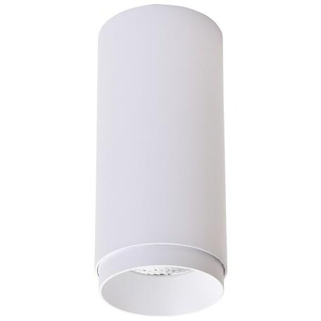 Потолочный светодиодный светильник Wertmark Stecken WE802.01.007, LED 12W 4000K 800lm, белый, металл