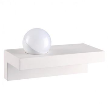 Настенный светодиодный светильник Novotech Over Ball 357932, LED 8W 3000K 690lm, белый, бетон, пластик