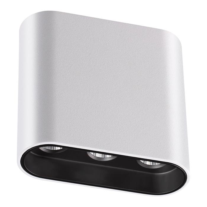Потолочный светильник Novotech 357949, белый, черный, металл - фото 1