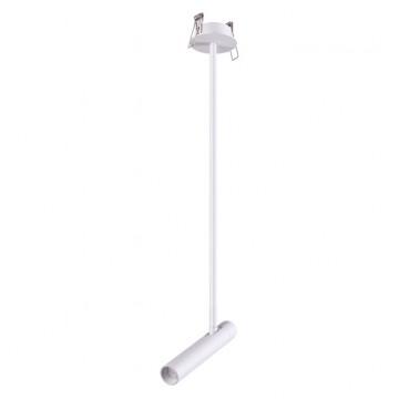 Встраиваемый светильник с регулировкой направления света Novotech 357944, белый, металл