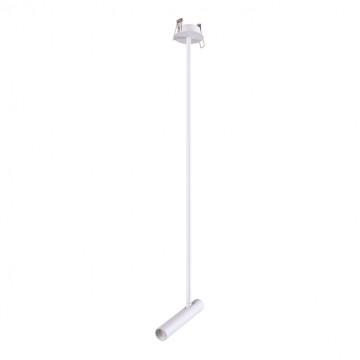 Встраиваемый светодиодный светильник с регулировкой направления света Novotech Spot Mons 357945, LED 5W 3000K 253lm, белый, металл