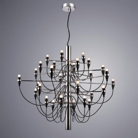 Подвесная люстра Divinare Molto 8030/02 LM-50, 50xE14x15W, черный, металл