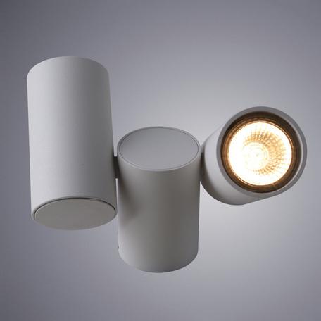 Потолочный светильник с регулировкой направления света Divinare Gavroche 1354/03 PL-2, 2xGU10x50W, белый, металл