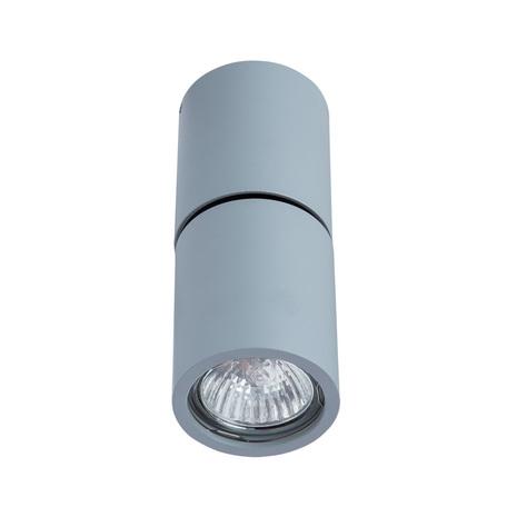 Потолочный светильник с регулировкой направления света Divinare Gavroche Posto 1800/05 PL-1, 1xGU10x50W, серый, металл