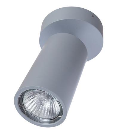 Потолочный светильник с регулировкой направления света Divinare Gavroche Volta 1968/05 PL-1, 1xGU10x50W, серый, металл