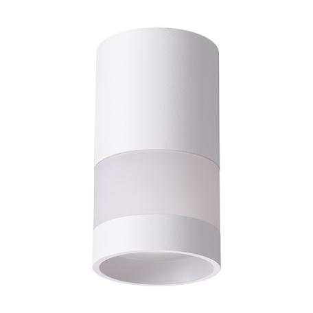 Потолочный светильник Novotech Over Elina 370679, 1xGU10x9W, белый, металл с пластиком