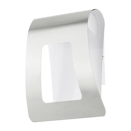 Настенный светодиодный светильник Eglo Fastro 93998, IP44, LED 5W 3000K, сталь, металл