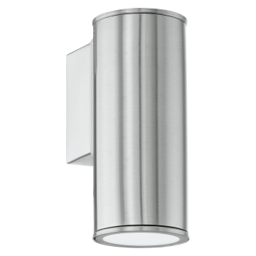 Настенный светильник Eglo Riga 94106, IP44, 1xGU10x3W, сталь, металл, стекло