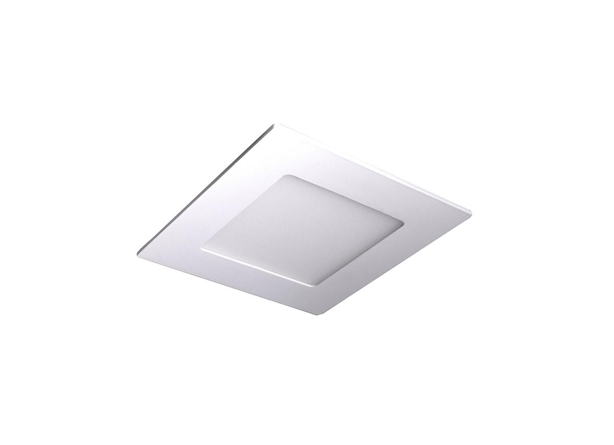 Встраиваемая светодиодная панель Donolux City DL18451/4W White SQ Dim, LED 4W, 3000K (теплый) - фото 1