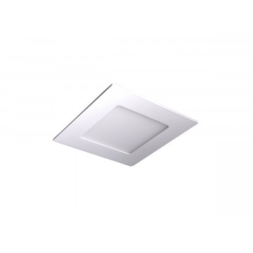 Встраиваемая светодиодная панель Donolux City DL18452/6W White SQ Dim, LED 6W, 3000K (теплый)