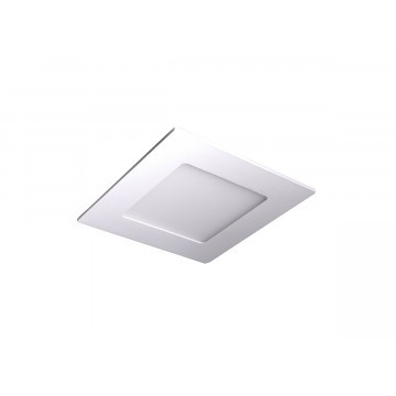 Встраиваемая светодиодная панель Donolux City DL18453/9W White SQ Dim, LED 9W 3000K 760lm