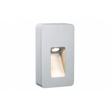 Настенный светодиодный светильник Paulmann Slot LED 93825, IP44, LED 2,4W, алюминий, металл