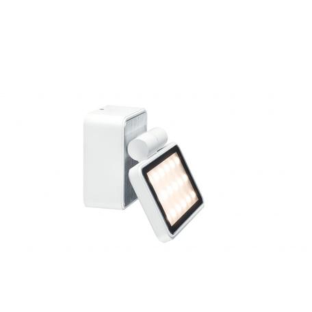 Настенный светодиодный светильник с регулировкой направления света Paulmann Special Line Board 93781, IP44, LED 7,2W, белый, черно-белый, металл