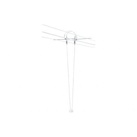 Подвесной светодиодный светильник для тросовой системы Paulmann Ball 94103, LED 5W, металл