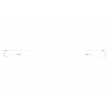 Прямой соединитель для модульной системы Paulmann Wire Systems 94085, белый, металл