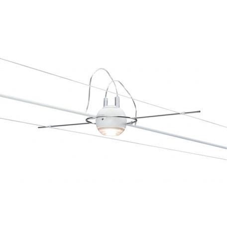 Светодиодный светильник с регулировкой направления света для тросовой системы Paulmann Ball 94100, LED 5W, металл