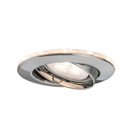 Встраиваемый светильник Paulmann Star Line LED Ring Set Shine 93800, IP23, 1xGU10x20W, алюминий, металл