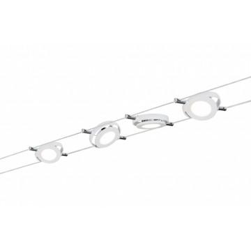 Тросовая система освещения Paulmann Mac 94105, LED 16W, металл, металл с пластиком
