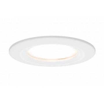 Встраиваемый светодиодный светильник Paulmann Premium LED 230V Slim Coin Satin 51mm dimmable 93870, IP44, LED 6,8W, белый, металл