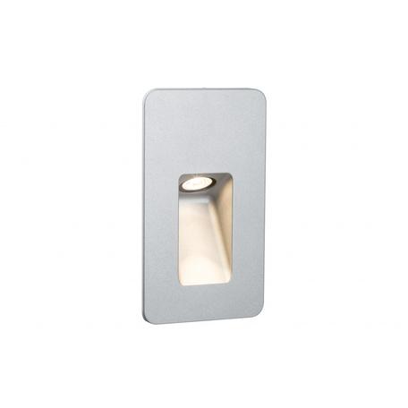 Встраиваемый настенный светодиодный светильник Paulmann Slot LED 93826, IP44, LED 2,2W