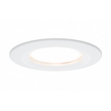 Встраиваемая светодиодная панель Paulmann Premium LED 230V Slim Coin Satin 51mm dimmable 93870, IP44