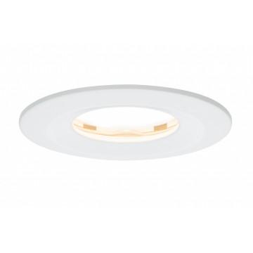 Встраиваемый светодиодный светильник Paulmann Premium LED IP65 230V Slim Coin Satin 51mm dimmable 93881