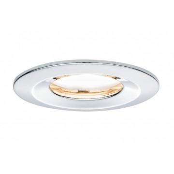 Встраиваемый светодиодный светильник Paulmann Premium LED IP65 230V Slim Coin Satin 51mm dimmable 93883