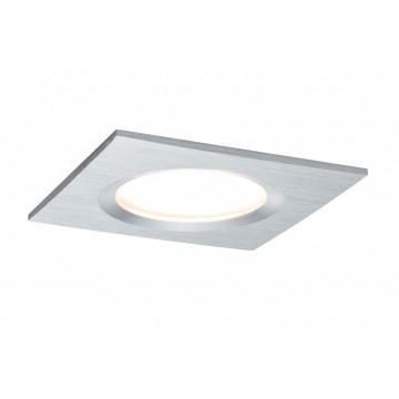 Встраиваемая светодиодная панель Paulmann Premium LED 230V Slim Coin Satin 51mm dimmable 93894, IP44