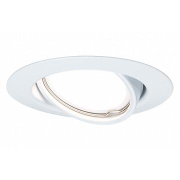 Встраиваемый светильник Paulmann LED 230V GU10 51mm 93845, 1xGU10x10W, металл