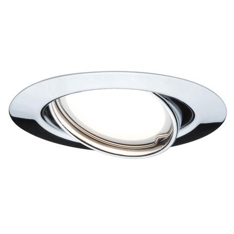 Встраиваемый светильник Paulmann LED 230V GU10 51mm 93847, 1xGU10x10W, металл